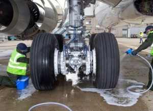 Aerospace Equipment Cleaning