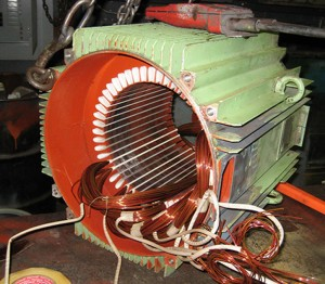 electric motor cleaning and restoration