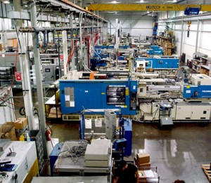 plastics manufacturing plant and equipment cleaning