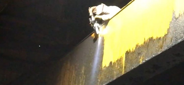 Dry Ice Blasting at any Height!