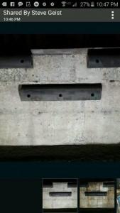 loading dock beautification media blasting