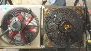 new pepsi ice blasting , side by side fans